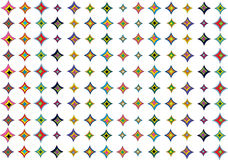Abstract colorful shapes background. Color abstract background with symmetrical shapes Royalty Free Stock Image