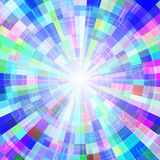 Abstract colorful shining circle tunnel vector background. EPS10 Royalty Free Stock Photography