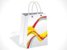 Abstract colorful shopping bag Royalty Free Stock Photos