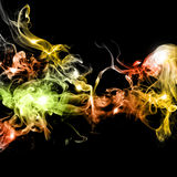 Abstract colorful smoke Royalty Free Stock Photo