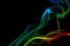 Abstract colorful smoke Royalty Free Stock Photography
