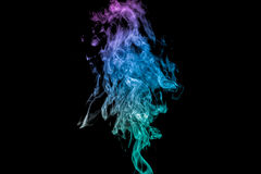 Abstract colorful smoke Royalty Free Stock Images