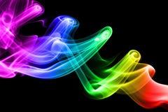 Abstract colorful smoke Royalty Free Stock Photo