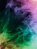 Abstract colorful smoke Royalty Free Stock Image