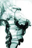 Abstract colorful smoke - smoke backdrop stock illustration