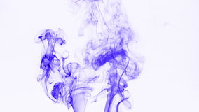 Abstract Colorful Smoke Turbulance Effect stock footage