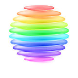 Abstract colorful sphere Stock Images