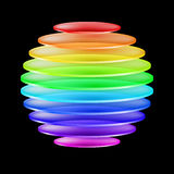 Abstract colorful sphere Royalty Free Stock Image