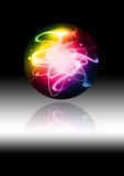 Abstract colorful sphere Royalty Free Stock Photography