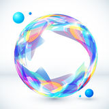 Abstract colorful sphere, vector image Royalty Free Stock Images