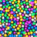 Abstract colorful spheres collection. Colorful spheres collection in different coors Stock Illustration