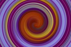Abstract colorful spin Stock Photo