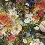 Abstract colorful spotted floral background Royalty Free Stock Photos