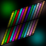 Abstract colorful square background Stock Photo
