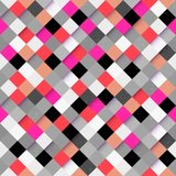 Abstract colorful square pattern background. Abstract optic effect colorful square pattern background. Vector file layered for easy manipulation and coloring Royalty Free Illustration