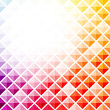 Abstract colorful square pattern background Royalty Free Stock Images
