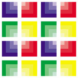 Abstract square pattern. Abstract colorful square pattern with different colors Stock Photos