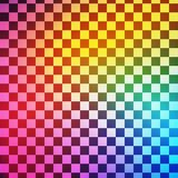 Abstract colorful square transparent background. Vector Royalty Free Stock Photos