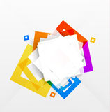 Abstract colorful squares background Royalty Free Stock Photo