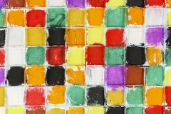 Colorful squares Royalty Free Stock Image