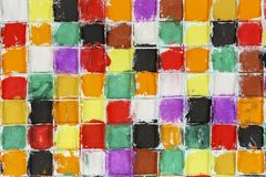 Colorful squares Royalty Free Stock Images