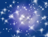 Abstract colorful star background Royalty Free Stock Photos