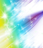 Abstract colorful star shape border Stock Photos