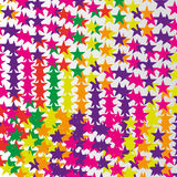Abstract colorful stars pattern. Colorful stars pattern for web and graphic projects Stock Image