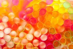 Abstract colorful straws Royalty Free Stock Images