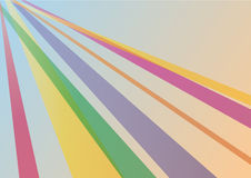 Abstract colorful streamers Royalty Free Stock Images