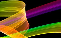 Abstract colorful stripe Royalty Free Stock Photos