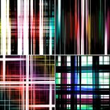 Abstract colorful striped backgrounds Stock Photos