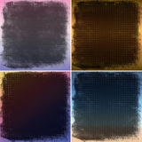 Abstract colorful striped backgrounds Stock Images