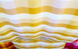 Abstract Colorful Striped loincloth fabric texture background Stock Photography