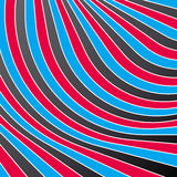 Abstract colorful stripes. Vector. Vector illustration background depicting colorful stripes Stock Photos