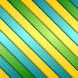 Abstract colorful stripes vector background Stock Images