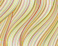 Abstract colorful strips. Abstract landscape background as colorful strips Royalty Free Stock Photography