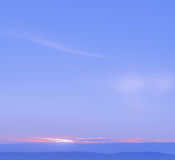 Abstract colorful sunrise Stock Photography