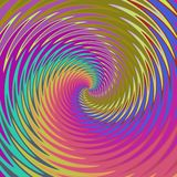 Abstract colorful swirl background in amazing colors. Vibrant colored wallpaper Stock Image