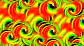Abstract colorful swirl background, stock illustration