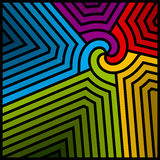 Abstract colorful swirl. Vector. Royalty Free Stock Photos