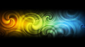 Abstract colorful swirl video animation stock footage