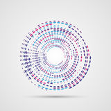Abstract Colorful Swirly Illustration. Modern design. Vector Stock Image