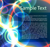 Abstract colorful template. Abstract colorful template with sample text Stock Photo
