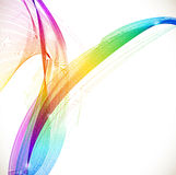 Abstract colorful template background Stock Photography