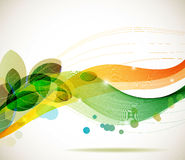Abstract colorful template background Stock Images