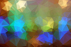Abstract colorful triangle background for design. Royalty Free Stock Photos