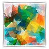 Abstract Colorful Triangle background Royalty Free Stock Image