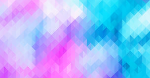 Abstract colorful triangle geometric background Royalty Free Stock Image