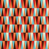 Abstract colorful triangle pattern background. Abstract colorful geometric pattern background. Vector file layered for easy manipulation and coloring Royalty Free Stock Photos